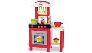 Cheap play kitchen for 2 year old children