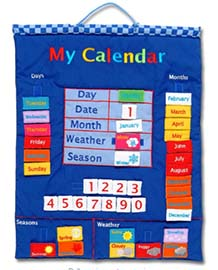Calendar for 2 year old