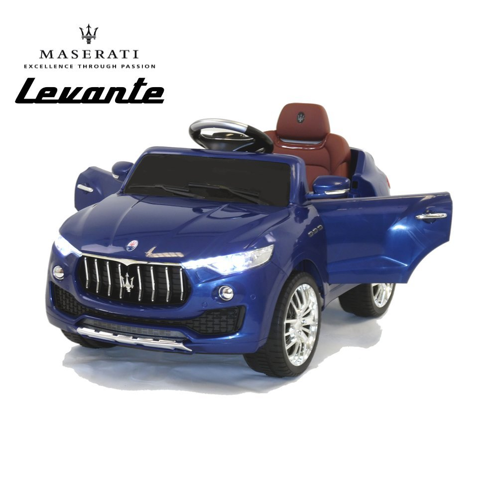 maserati levante kids ride on battery operated electric toy car