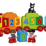 LEGO Number Train Building Set